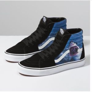 NWT Shark Week x Vans Sk8 Hi Style Sneakers